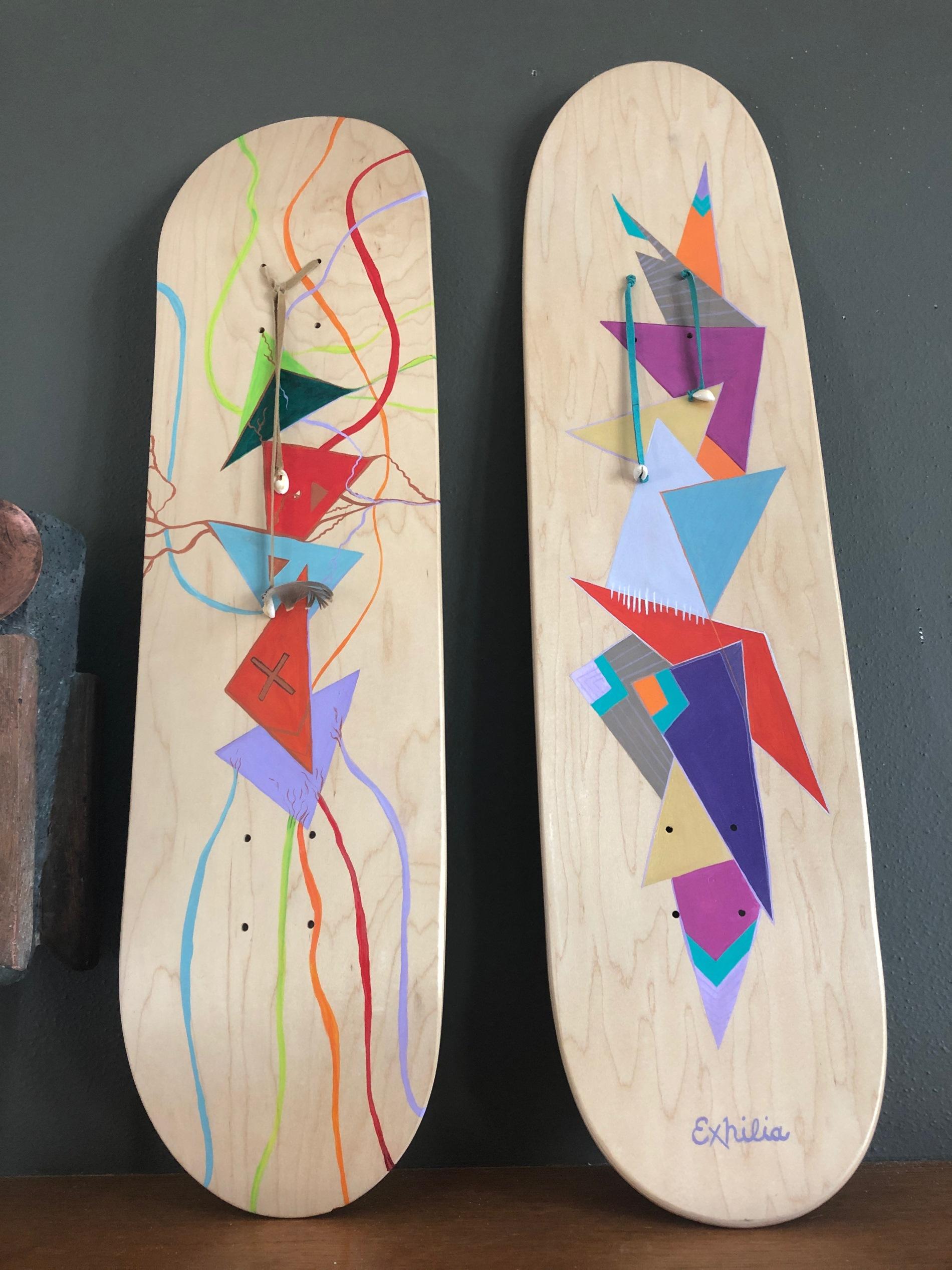 Artist X Skatedeck Series