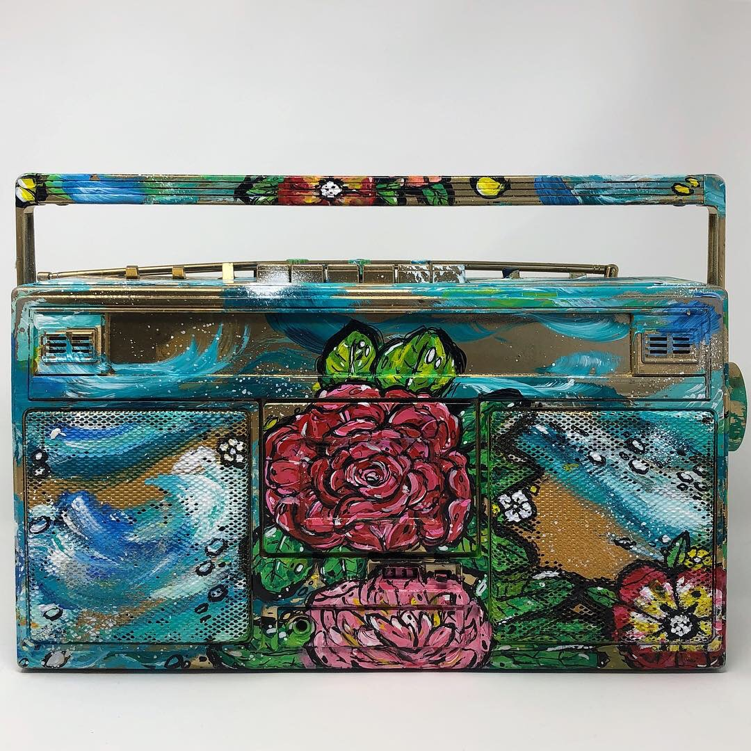 Pioneer Rose Boombox