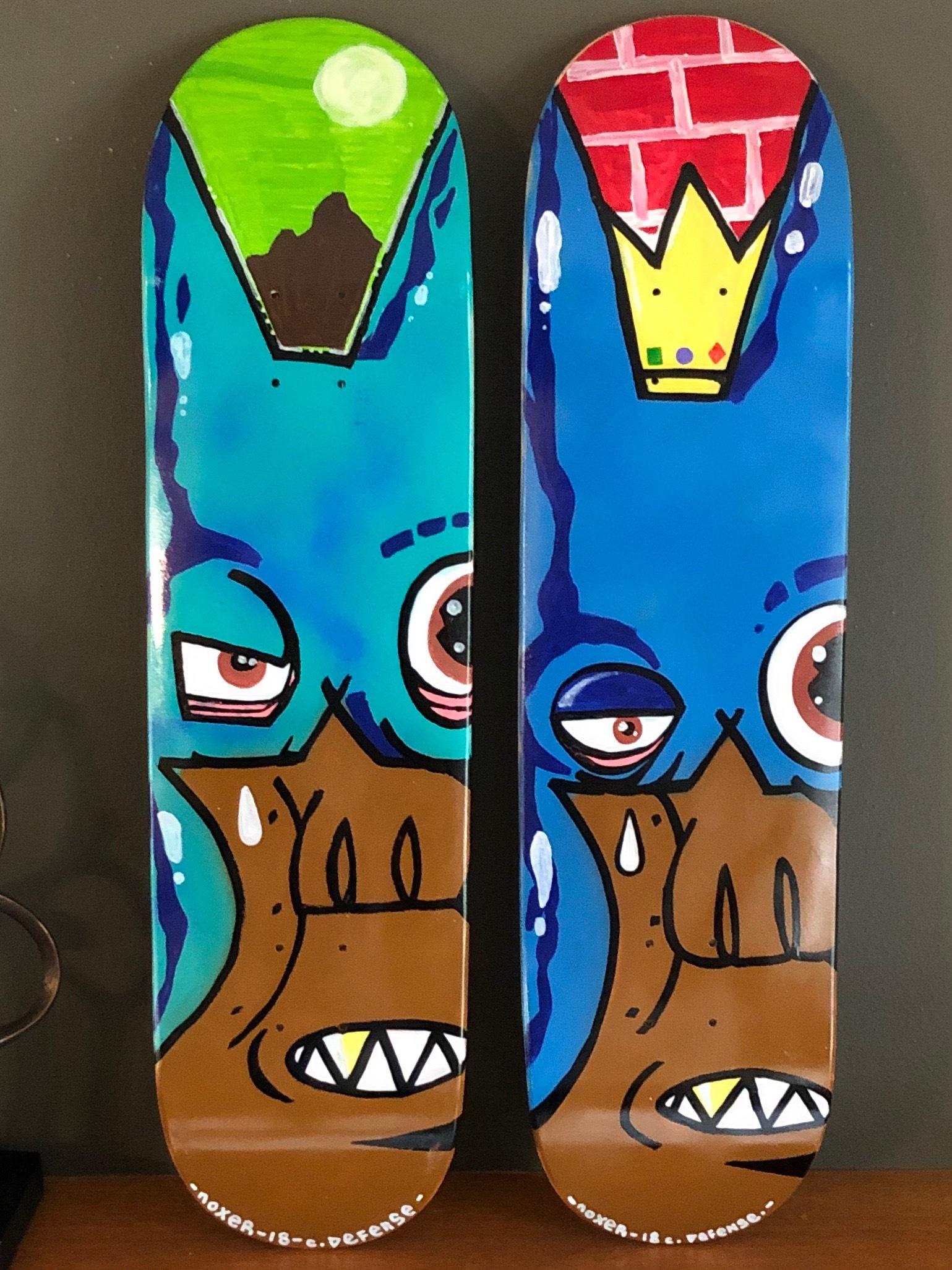Noxer Skatedeck Series