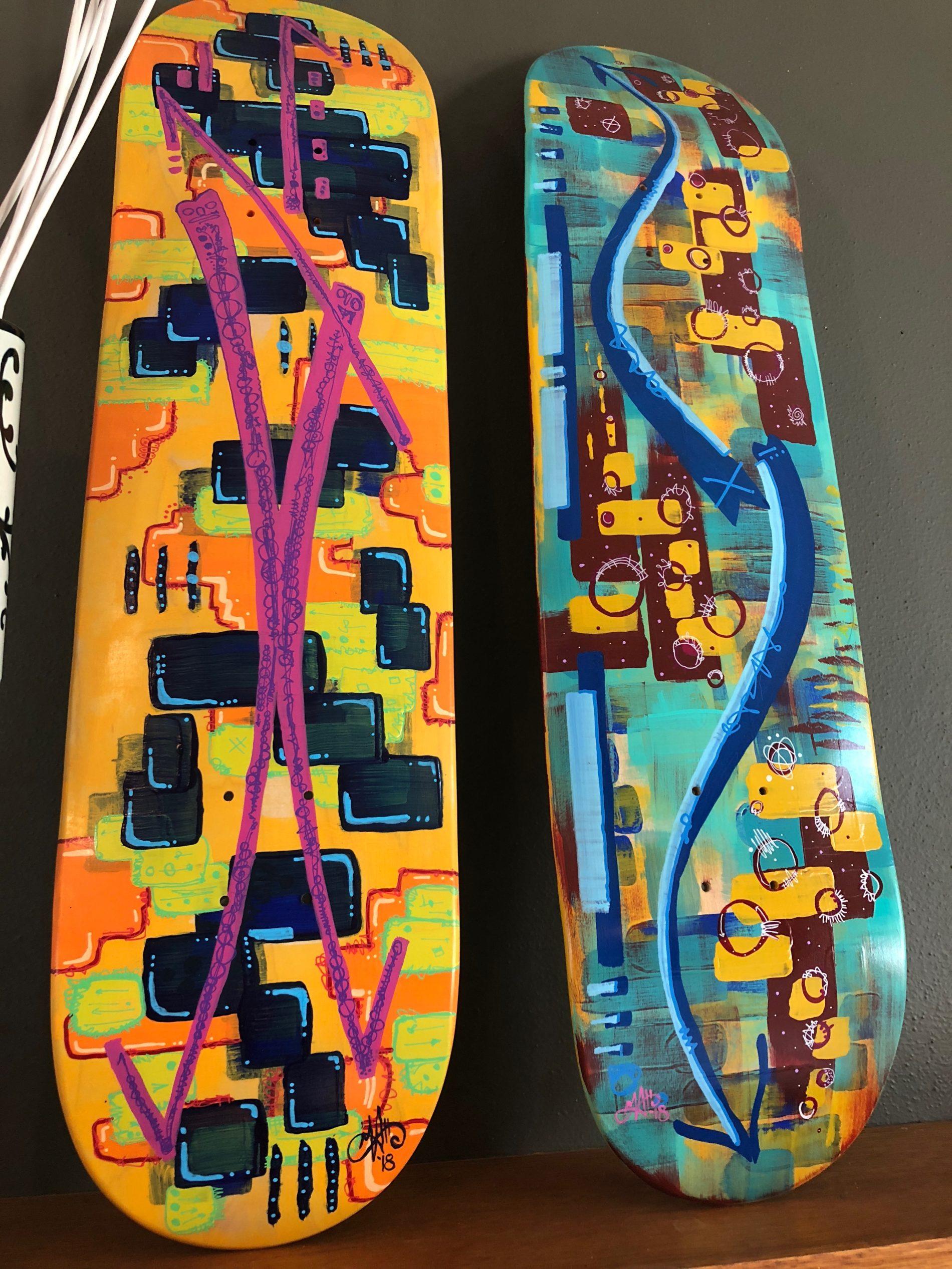 Denisen Skatedeck Series